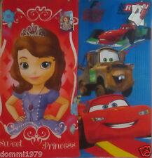 Disney Cars oder Sofia die Erste Handtuch 35 cm x 65 cm neu