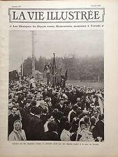 LA VIE ILLUSTREE 1906 N 410 LE DEPUTE RUSSE HERZENSTEIN, ASSASSINE A TERIOKI
