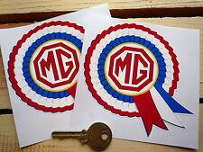 MG Rosette stickers MGB TF Midget TF ZT ZA ZB Magnette