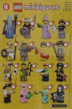LEGO® Figuren Serie 12 - 71007 - Auswahl - Neu/OVP oder ZIP Tüte