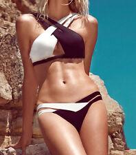 Set costume bagno bikini 2 pezzi per piscina nuoto moda mare sexy da donna