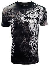 Konflic [Royal Griffin] T-Shirt MMA UFC BIKER HARLEY ROCKER Gothic TRIBAL la KO