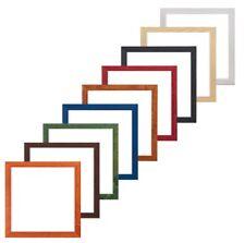 CORNICE FOTO IN LEGNO Confetti gamma di colori 20 mm Foto Cornice Foto Instagram