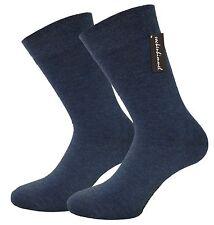 SOCKEN OHNE GUMMI für Herren 12 Paar - Business-Socken mit Baumwolle 4 Farben