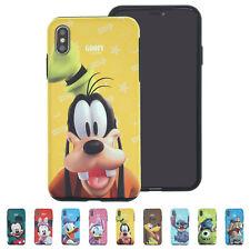DISNEY 3D Bumper Cover Galaxy S10 Note10 iPhone 11 Pro XS Max XR X 8 7 Plus Case