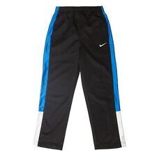 NIKE Boy's Tricot Colorblock Pants ** BLACK/GAME ROYAL/WHITE - 5, 7 ** NWT