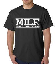 MILF Man I Love Fishing Shirt Funny Slogan Performance Fisherman Present Gift