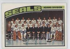 1976-77 O-Pee-Chee #135 Checklist California Golden Seals Cleveland Barons Card