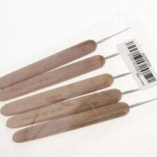 5pcs Bamboo  Hair Weaving Crochet Needles Hooks Dreadlock Tool