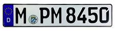 German Police License Plate