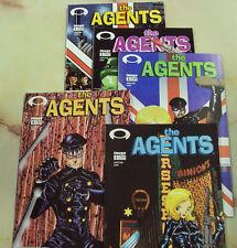 AGENTS IMAGE COMICS 1 2 3 4 5 2003