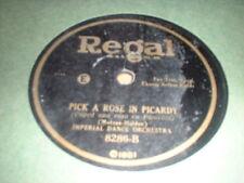 78RPM Regal 8286 Fred Rich, If U C Sally/ Imperial Dance, Pick a Rose in Pica V-