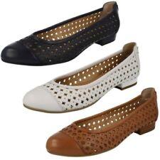 Ladies Van Dal Flat Ballerina Style Shoes 'Mason'