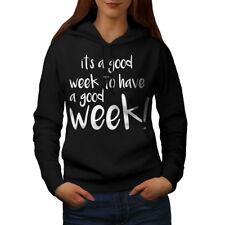 Wellcoda Good Week Have Womens Hoodie, Funny Casual Hooded Sweatshirt