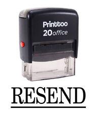Printtoo reenviar Auto entintado sello de sello de goma oficina papelería personalizada