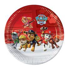 Paw Patrol Let's Roll! Chase décombres papier 23 cm Fête Buffet Plaques 1-48pk