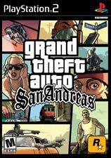 Grand Theft Auto San Andreas (Sony PlayStation 2, 2004) Complete (CIB)