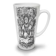 Death God Skull Horror NEW White Tea Coffee Latte Mug 12 17 oz   Wellcoda