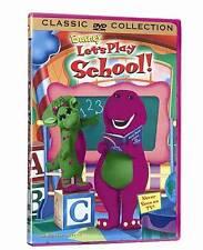 Barney: Lets Play School DVD