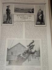 1901 ASSTD ARTICLES & PICS WARRIOR FIGUREHEAD RANGOON