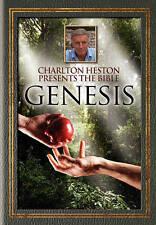 Charlton Heston Presents the Bible - GENESIS -DVD- LN DISC + COVER ART - NO CASE