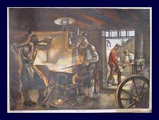 Roland Strasser Wien Schmied Hufschmied Esse Hammer Hufeisen Amboß Blacksmith