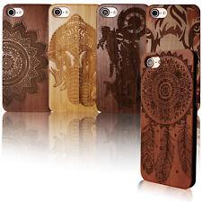 für iPhone 7 / 8 - Handy Case Schutz Hülle Holz Cover Natur 100% ECHTHOLZ Motiv