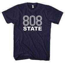 808 state Hacienda Acid House Rave unisex maglietta tutti i colori e dimensioni