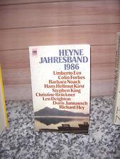 Heyne Jahresband 1986, 9 Romane und Erzählungen von 9 p