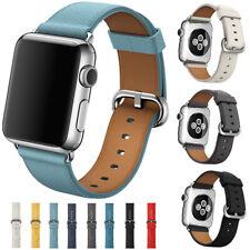 Genuine Leather Strap Bracelet Wrist Band For Apple Watch iWatch 2/3/4/5 40/44mm
