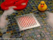 Quartz by Aco ShowerPoint 6 inch Square Shower Drain