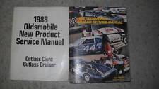 1988 Oldsmobile Cutlass Ciera & Cutlass Cruiser Service Shop Manual Set W