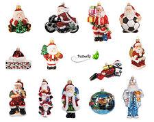 Christbaumkugeln Champagnerfarben.Christbaumschmuck Weihnachtsmann Aus Glas Günstig Kaufen Ebay