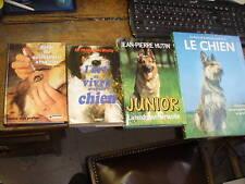 lot de 4 livres sur le chien hutin/  le bas / de wailly