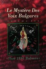 LE MYSTERE DES VOIX BULGARE POSTER     (L8)