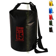 Karana Ocean Dry Day Travel Pack Waterproof Kayak Shoulder Rucksack Bag 15L 15