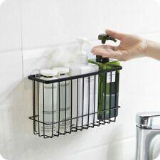 Hanging Storage Basket Bathroom Kitchen Organizer Sponge Holder Tableware Shelf