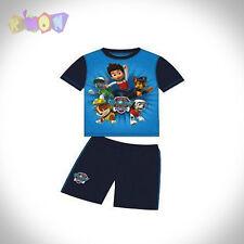 6727 Conjunto Camiseta y Shorts PAW PATROL Azul