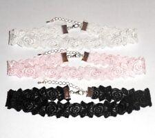 Pretty Lace CHOKER - Pale Pink, Cream or Black - You choose