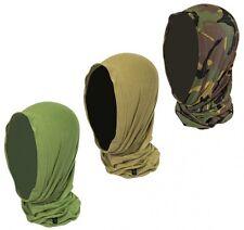 HIGHLANDER BRITISH ARMY STYLE HEADOVER Balaclava Hat Cap TA CADET SAS CAMO OG