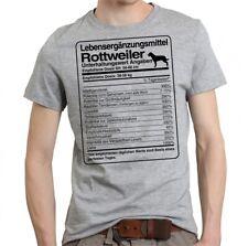 T-Shirt Unisex DOSIS ROTTWEILER Lebensergänzungsmittel by Siviwonder