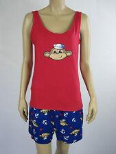 Mitch Dowd Ladies 2 Piece Pyjamas Lounge Wear Sleepwear size Large