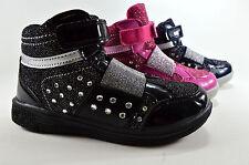 Sportliche Kinder Schuhe Sneaker Halbschuhe Turnschuhe Gr.31-36 Glitzer A.198-2