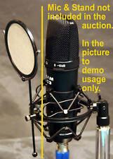 PF-1 Metal Micro Mesh Studio Microphone Pop Filter