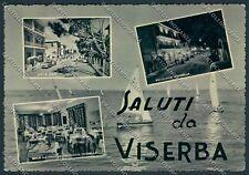 Rimini Viserba Saluti da FG cartolina D7460 SZD