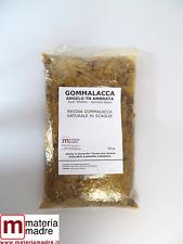 GOMMALACCA  SCAGLIE ANGELO TN Conf.  250 Gr Shellac Orange Gomme Laque Schellack