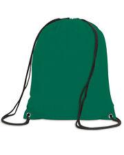 Shugon Stafford Drawstring Tote Backpack Water-Resistant Gym Sack Bag SH5890