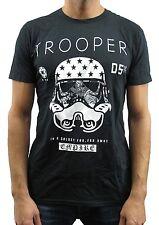 Star Wars Trooper Empire Black Men's T-Shirt New