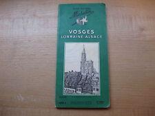 1959 Michelin Vosges Lorraine Alsace France Green Guide