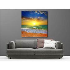 Quadro tela decocrazione quadrato tramonto de sole 12025816